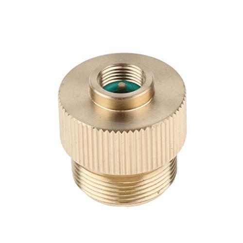 IPOTCH Gas Refill Herd Adapter Anschluss - Gold -