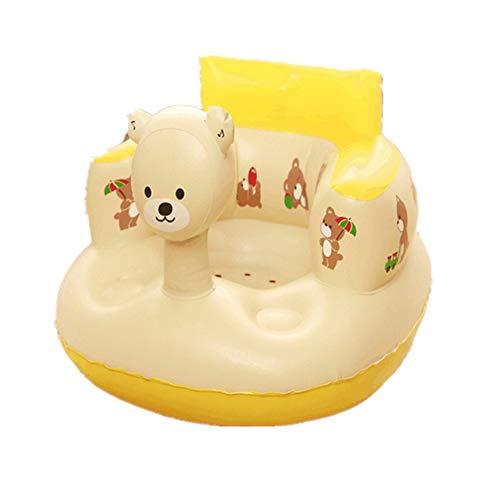ZREAL Kinder Baby Aufblasbarer Stuhl Sofa Bad Sitz Esszimmer Kinderwagen PVC Kleinkind Tragbare Spielmatte Hocker
