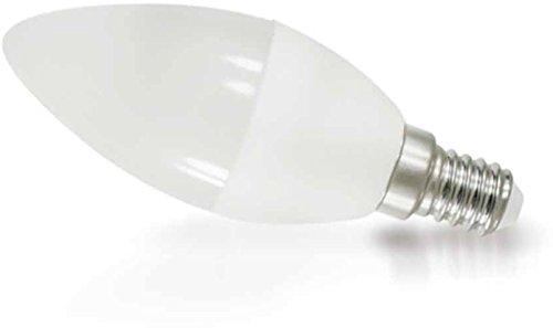 Lampadina LED candela 8W e14C37Matt 200°-640lm-Bianco caldo