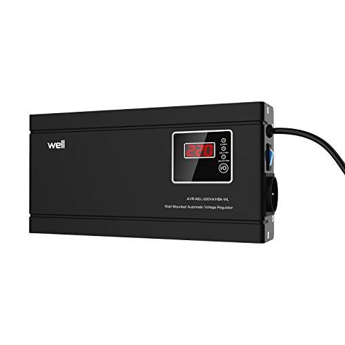 Regolatore di tensione relè sottile Bene 500VA / 300W Confezione da 1PZ