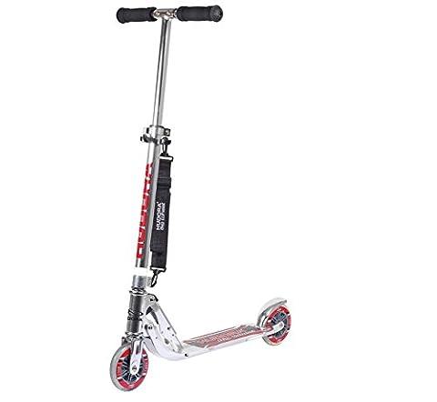 HUDORA Big Wheel 125 mm, silber - Scooter Kinder Roller - 14200