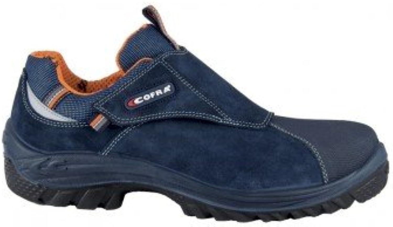 Cofra 63710 – 000.w45 Talla 45 S3 SRC – Zapatillas de seguridad Perugia, color azul