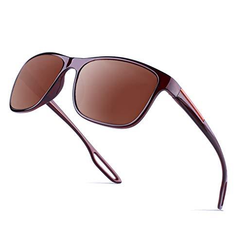 GQUEEN Retro Sonnenbrille mit UV400 Schutz MZE4