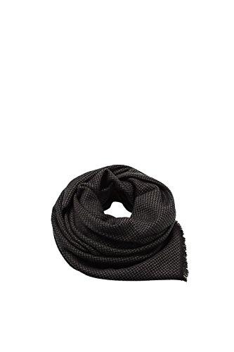 Esprit Accessoires Herren Schal 127EA2Q002, Grau (Dark Grey 020), One size