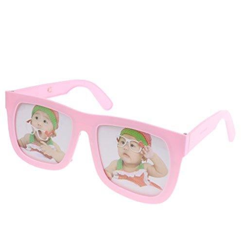 MagiDeal Schöne Brillen Foto-Rahmen, Bilderrahmen, Kinder Baby Geburtstag Party Dekoration