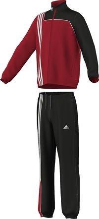 adidas Kinder Präsentationsanzug Sereno 11, Top:University Red/Black  Bottom :Black/University Red, 176, V38064