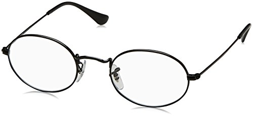 Ray-Ban Unisex-Erwachsene 0RX 3547V 2509 48 Brillengestelle, Schwarz (Shiny Black)