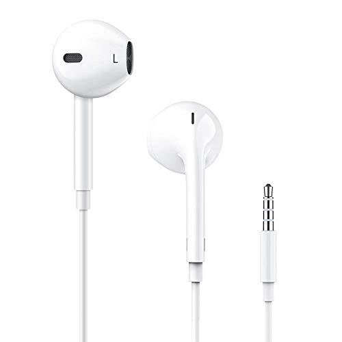 Humupii In-Ear Cuffie Auricolari con Telecomando e Microfono per iPhone6 6s 6 Plus 5 5s 5c 4s 4 iPad iPod Samsung Huawei Android e Altri Smartphone (15)