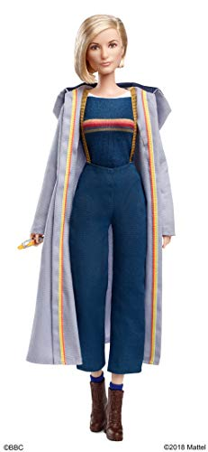 Barbie Collector FXC83 Doctor Who Doll with Sonic Screwdriver, Multicolour