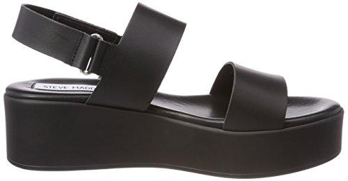 Steve Madden Rachel, Sandali con Cinturino Alla Caviglia Donna nero (nero)