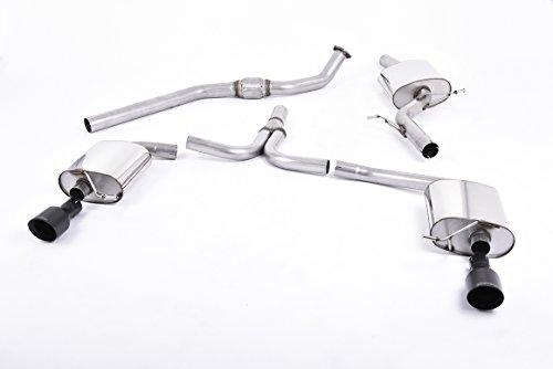 Sport Auspuff Milltek SSXAU436 Anlage ab KAT | DPF (TÜV) - A5 Coupé 2.0 TFSI (165 kW /225 PS) | HSN: 0588 | TSN: AXS | A5 Coupé (B8) 2-Türer Coupe multitronic -