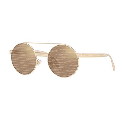 Ray-Ban Damen 0VE2210 Sonnenbrille, Schwarz (Pale Gold), 52.0