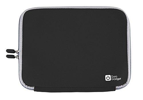 DURAGADGET Schutzhülle aus Neopren für ASUS ROG G751JT, ROG GL752VL und ROG GX700VO Gaming Laptops (Schwarz)