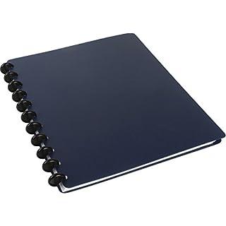 Spiralbuch arc PP befüllbar blau A4 60 Blatt