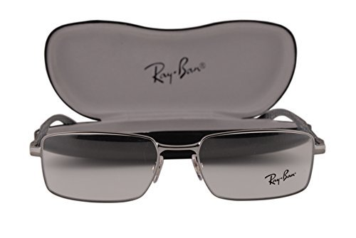 Ray-Ban RX8414 Eyeglasses 53-18-145 Gunmetal Gray 2502 RB8414 image