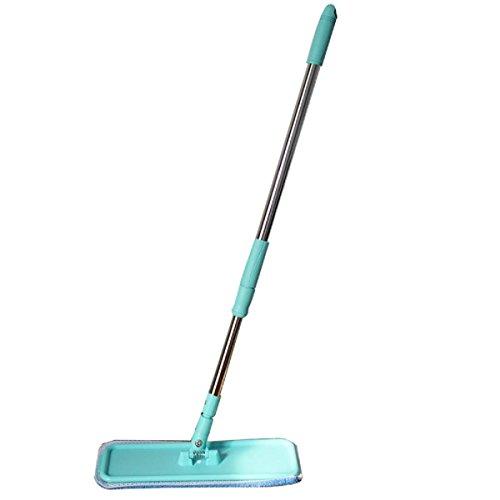 GAOJIAN Home Flat Mop Floor Reinigung 360 Rotating Edelstahl Microfaser Mop Tuch Wohnzimmer Schlafzimmer Glas Reinigung Tool Sticky Mops