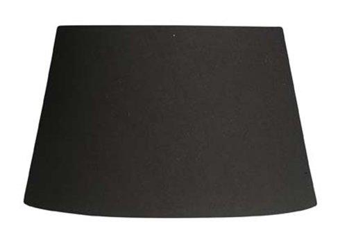 Oaks Lighting Lampenschirm aus Baumwolle, zylindrisch, schwarz