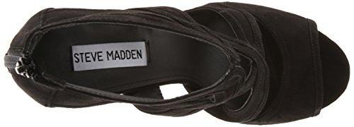 Pompa Steve Madden immence Dress Black Suede