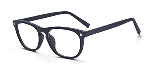 ALWAYSUV Blaulicht-Blockierende Linse Brille Anti Müdigkeit/UV für Smartphone/Computer/TV Brillenfassung -