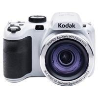 Kodak AZ361 Point & Shoot Camera (White)