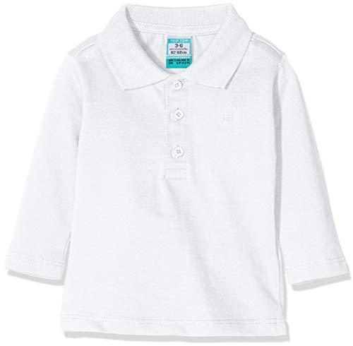 Top Top Top Top Baby-Jungen Poloshirt calabasa, Weiß (Blanco 1), 62 (Herstellergröße: 3-6)