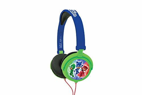 Lexibook PJ Masks Catboy Stereo Headphone, safe volume, foldable and adjustable, Blue/Green, HP015PJM Best Price and Cheapest