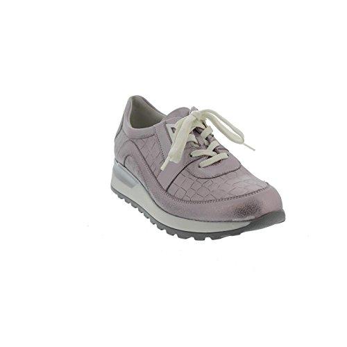 Waldläufer Hiroko, Sneaker, Bufa Marley (metallis. Leder), Rosé, Weite H 364026-200-202 Rose