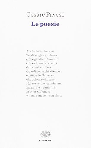 Le poesie por Cesare Pavese
