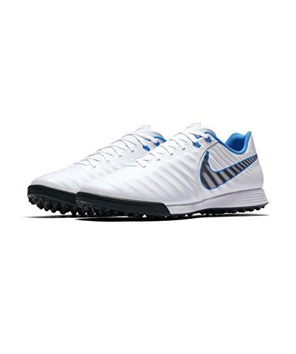 Nike Fußball Schuh Zeit legendx 7Academy Sohle TF weiß/blau Erwachsene, weiß, 42 (Tf Fußball-schuh)