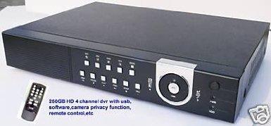 J1B-NEW 2 KANÄLE, MIT DVR-REKORDER, CCTV, 250 GB, USB/FUNK 250 Gb Dvr