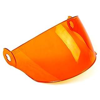 motorsportgoetz Visier Vega Retro orange kratzfest