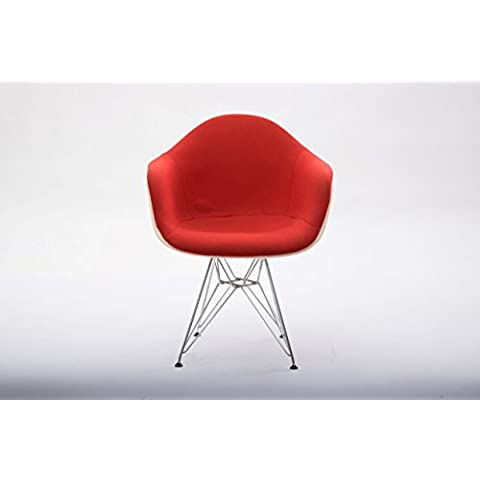 Poltroncina Arm Shell Chair designer Charles Eames produttore Vitra paese