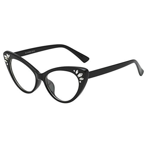 Gafas de sol para mujer,BBestseller Retro Protección UV Gafas de ciclismo  Ojo de gato fc5baeb48661