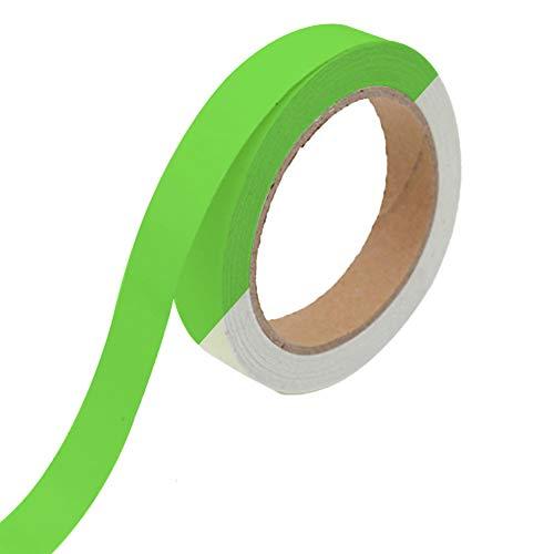 Glow Tape, grün phosphoreszierende Klebeband-33Füße Länge x 2cm Breite, nachleuchtend, abnehmbarer, wasserfest, hohe Leuchtdichte für Kennzeichnung Treppen, Notausgänge und Party Dekoration