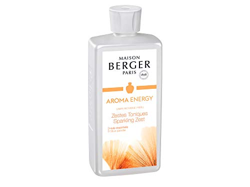 Maison Berger Paris Düfte Zestes Tonique/Energy Dynamisierende Zitrusschalen 1 L Nachfüllflasche -