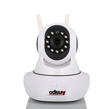 Domo forma cámara seguridad PTZ IP; Wi-fi incorporado;