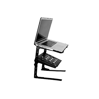 Accenta LAP-1 Adjustable Multi-Level DJ Laptop Stand with Shelf