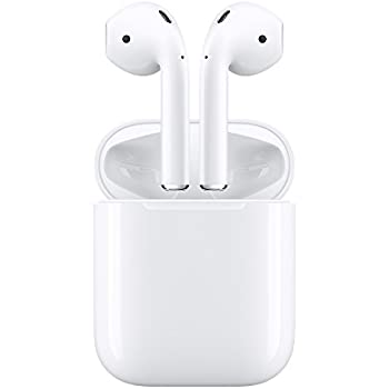 Apple AirPods écouteurs sans fil (Bluetooth, Lightning) - Blanc