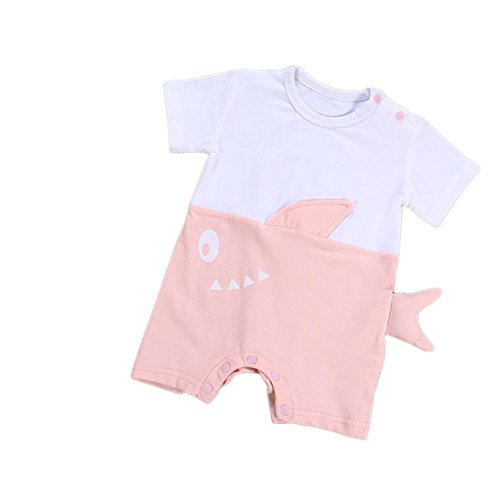 OSYARD Unisexs Shirt Newborn Infant Baby Boys Girls Letter Romper Jumpsuit Shirt Kid Clothes Outfits
