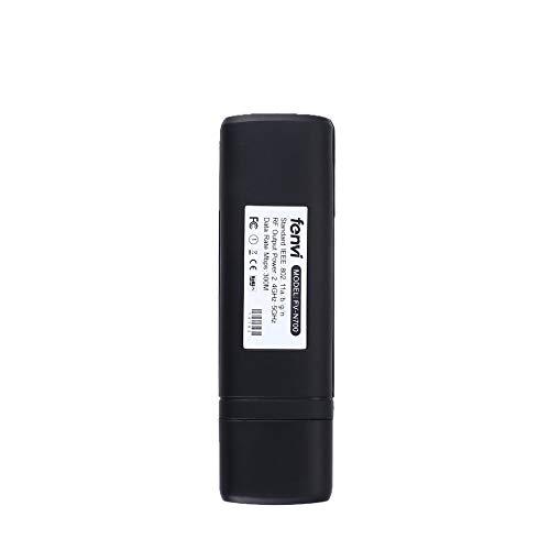 Preisvergleich Produktbild GailMontan WiFi-Dongle-WLAN-Adapter für Smart TV - schwarz