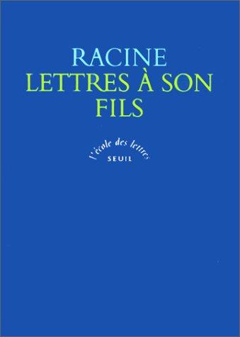 Lettres à son fils
