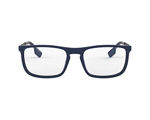 BURBERRY Brille (BE-2288 3770) Acetate Kunststoff - Metall dunkel blau - matt grau