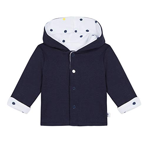 Absorba 9N44031 Coat Manteau, Blanc (White 01), 3-6 Mois (Taille Fabricant:6M) Mixte béb
