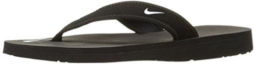 Nike 314870-011 Badelatschen, Damen, Schwarz (Black/White), 40 1/2
