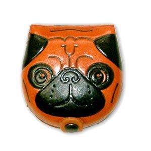 Carlin en cuir véritable pour chien Changement/Monnaie/étui portefeuille/Support * * * * * * * * VANCA * * * * * * * * fait à la main au Japon