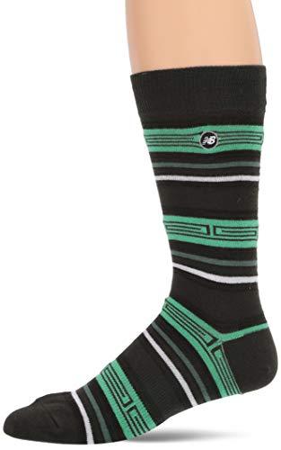 New Balance Herren Socken Life Style Lantern Crew (1 Paar), Herren, grün, Size 9-12.5/Large
