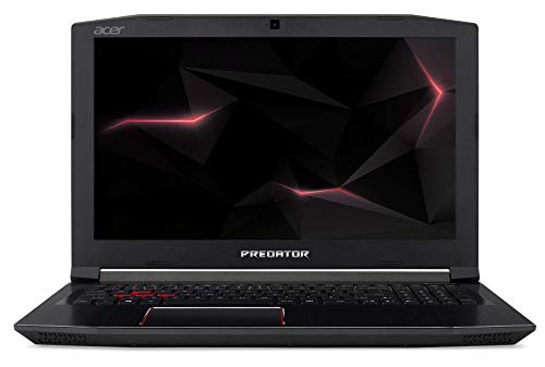"Acer Predator Helios 300 PH315-51-75FZ Ordinateur portable 15,6"" Full HD Noir (Intel Core i7, 8 Go de RAM, 128 Go, Nvidia GeForce GTX1060, Windows 10) [Ancien Modèle]"