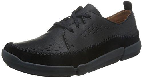 Clarks Trifri Lace - Black Leather 10 UK Clarks 10 Damen