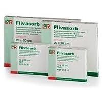 flivasorb absorbierend Wundauflage 10cm x 10cm (x10) preisvergleich bei billige-tabletten.eu