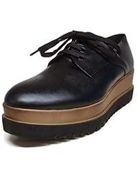 ec03788ada Pregunta Scarpe Donna Platform Pelle Nera 89050-NERO